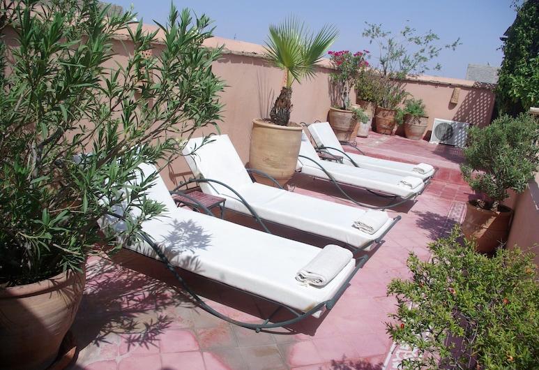 Riad Dar Dialkoum, Marrakech, Terrass