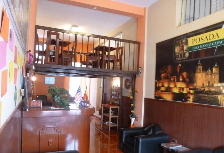 POSADA INKA MANCO CAPAC, Cusco, Lobby Sitting Area