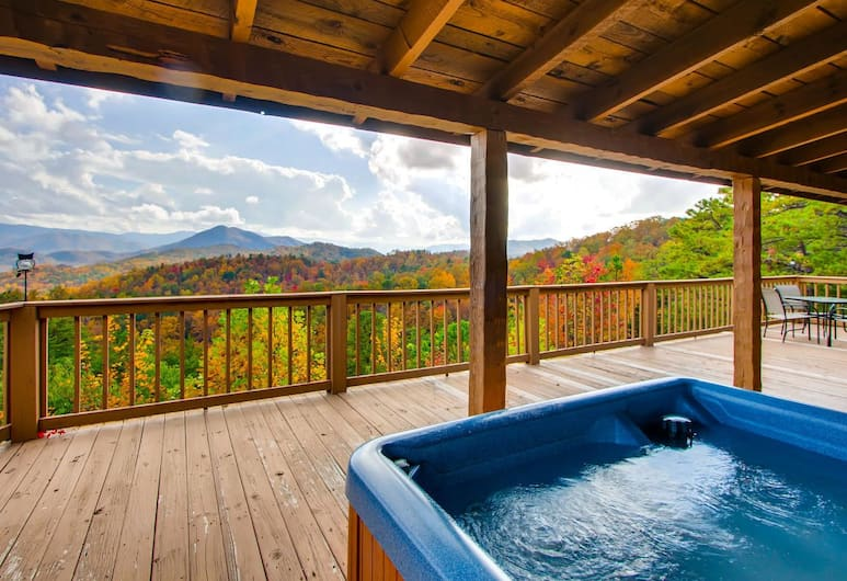 Bears Paws by RedAwning, Sevierville, Außen-Whirlpool