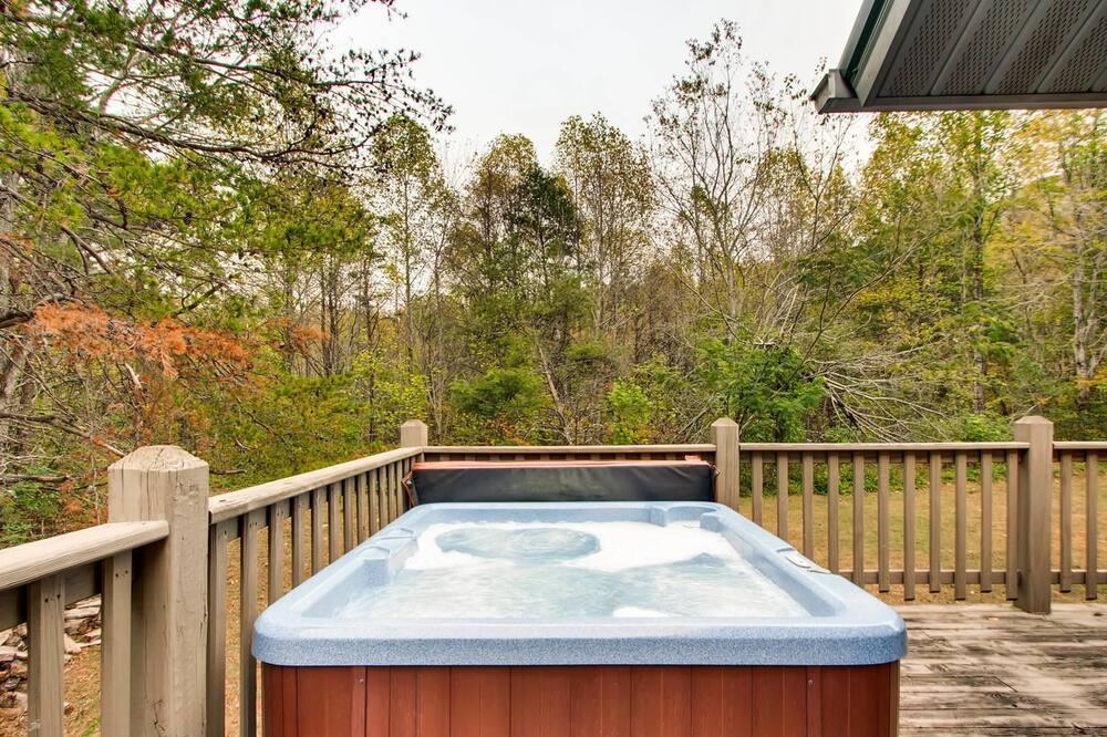 Huisje, 2 slaapkamers - Spabad buiten