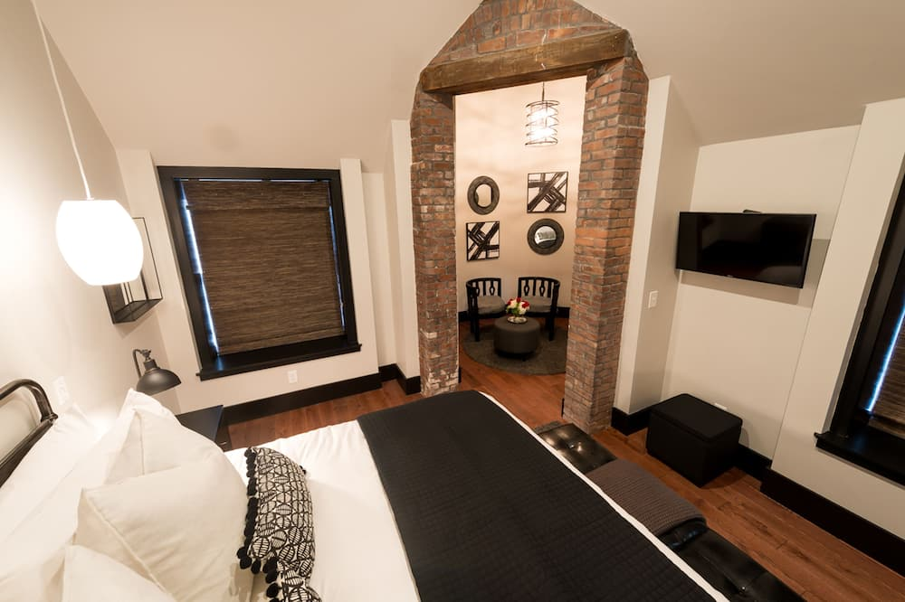 Номер «люкс», 1 двуспальная кровать «Кинг-сайз» - Главное изображение