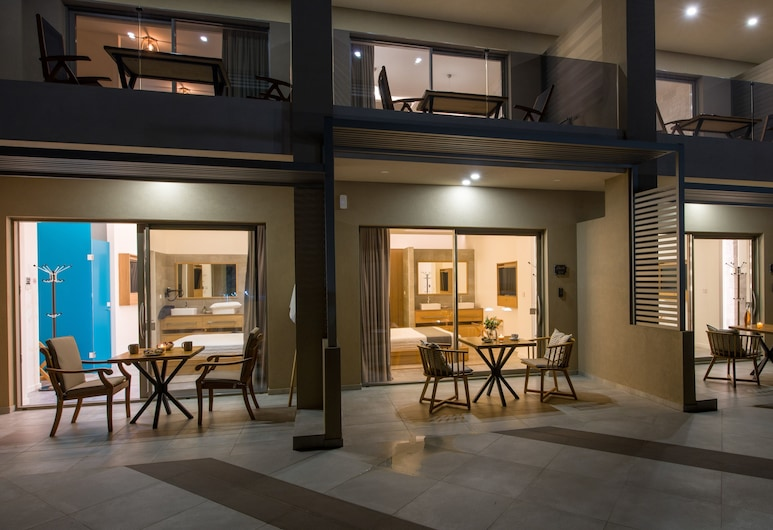 Lilium Luxury Suites - Adults Only, Chania, Luxury Double Room, Terrace, Sea View, Terrace/Patio