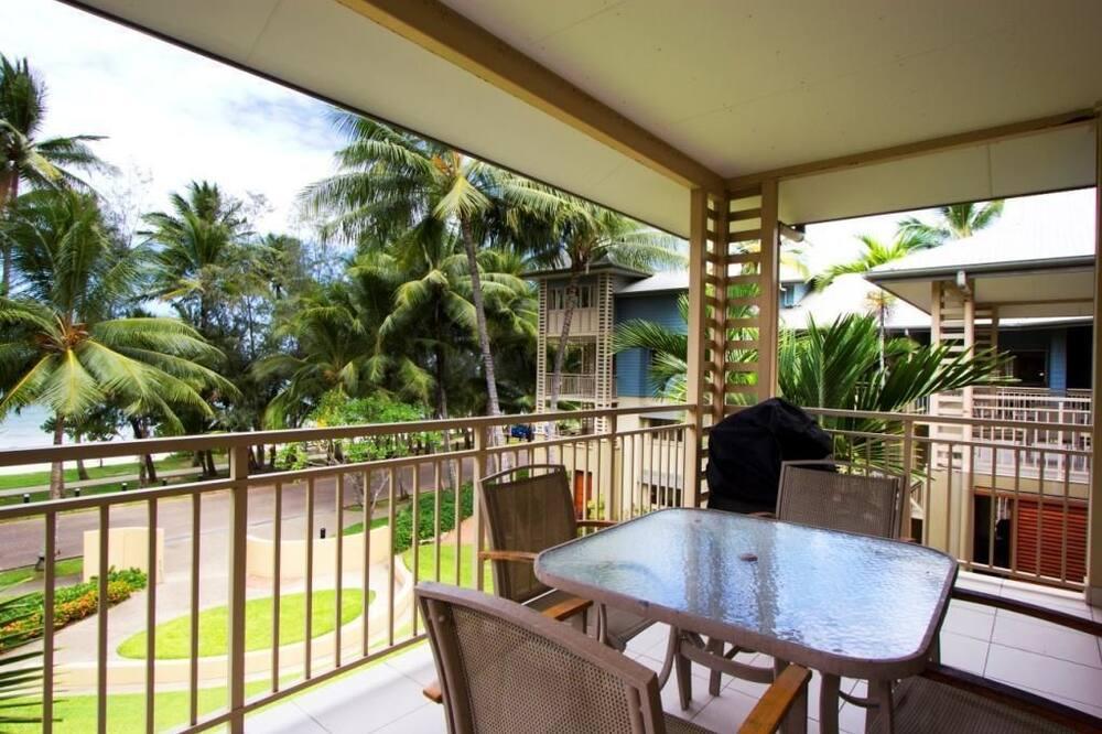 Luxury Apart Daire, 1 Yatak Odası, Plaj Manzaralı, Denize sıfır - Balkon