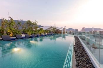 A(z) Oakwood Hotel Journeyhub Phuket hotel fényképe itt: Patong