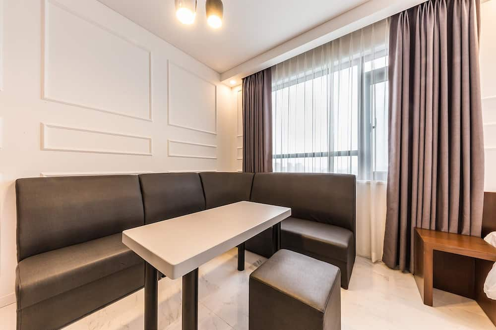 Ateliérové apartmá (A Type) - Obývací prostor