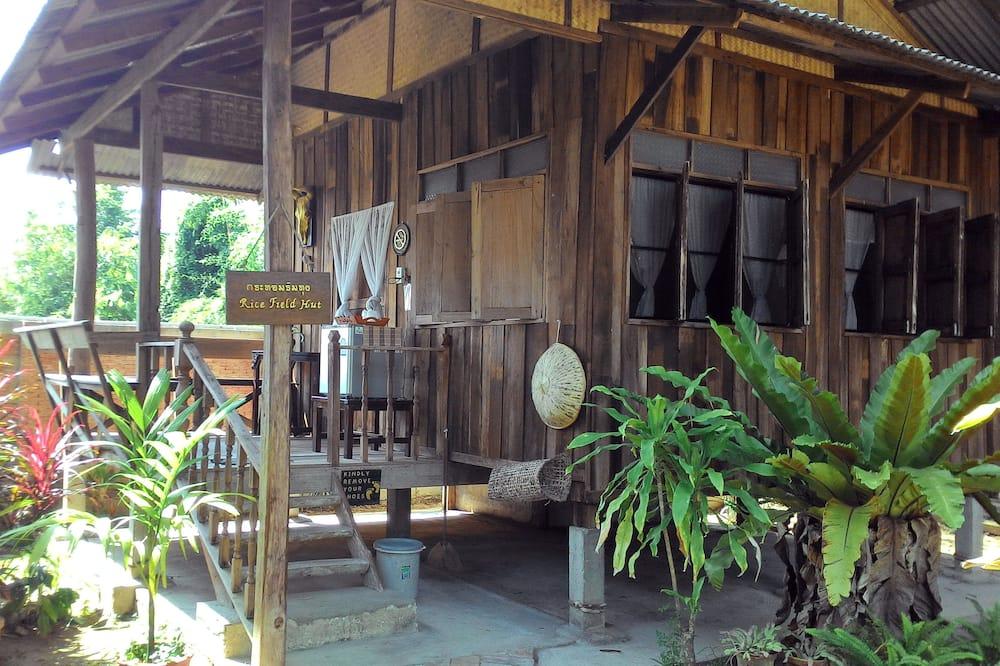 Rice Field Hut - Balcony