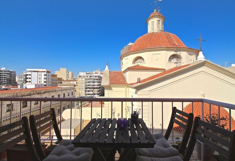 Apartamento La Cúpula, Alicante, Appartement, 2 slaapkamers, Uitzicht op de stad, Balkon