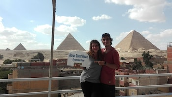 Foto van Horus Guest House Pyramids View in Giza
