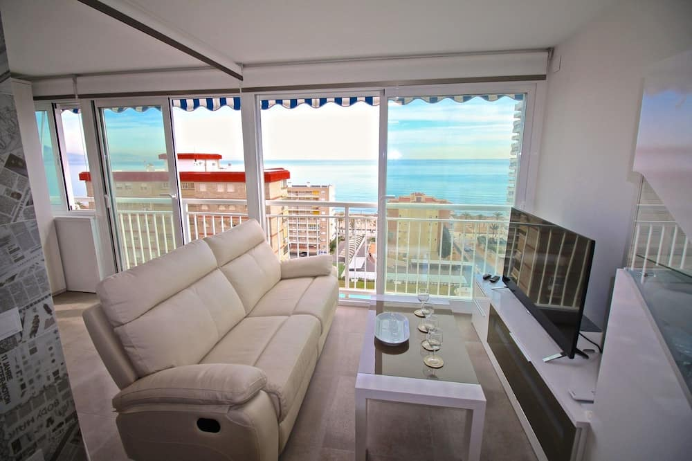Loft, vista al mar - Sala de estar