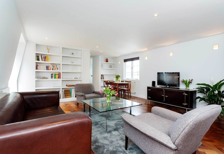 Veeve - Covent Garden Cool, London, Apartment, 2 Schlafzimmer (Covent Garden Cool), Wohnbereich
