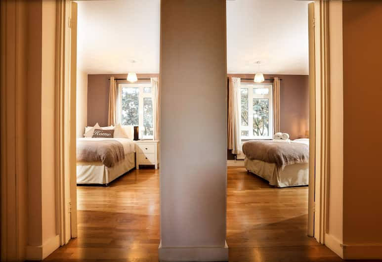 CDP Apartments – Russell Square, Londýn, Apartmán typu Deluxe, 2 ložnice, balkon, Pokoj