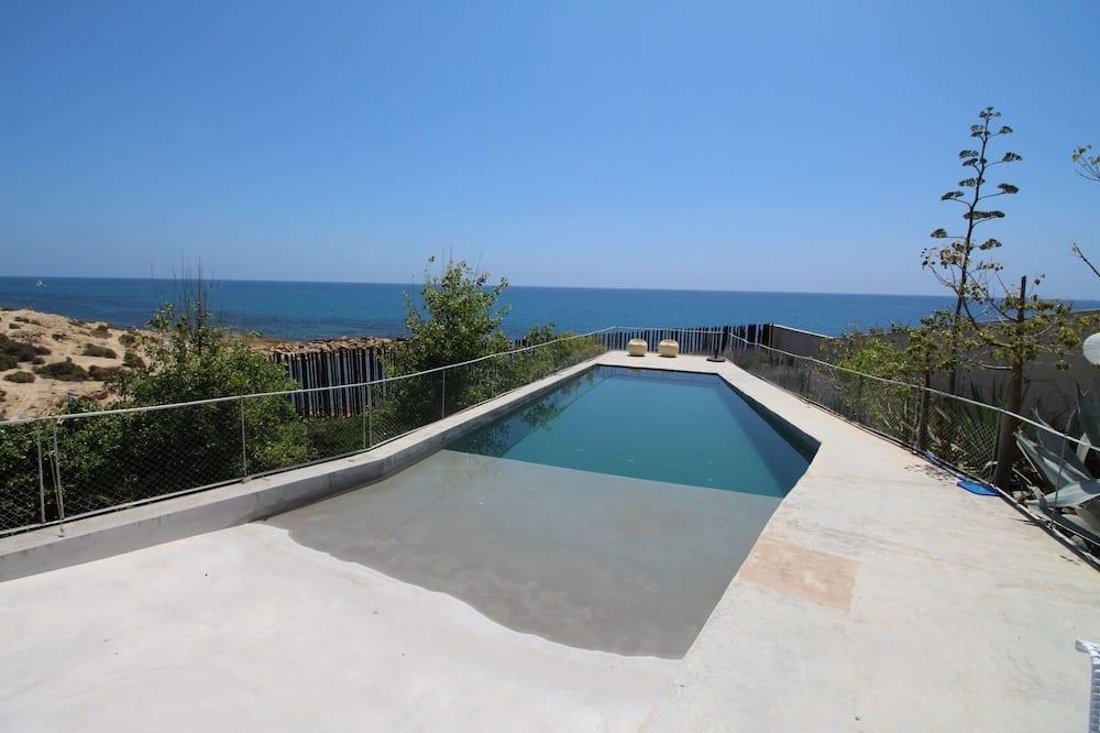 Villa, piecas guļamistabas, privāts baseins, skats uz jūru - Privātais baseins
