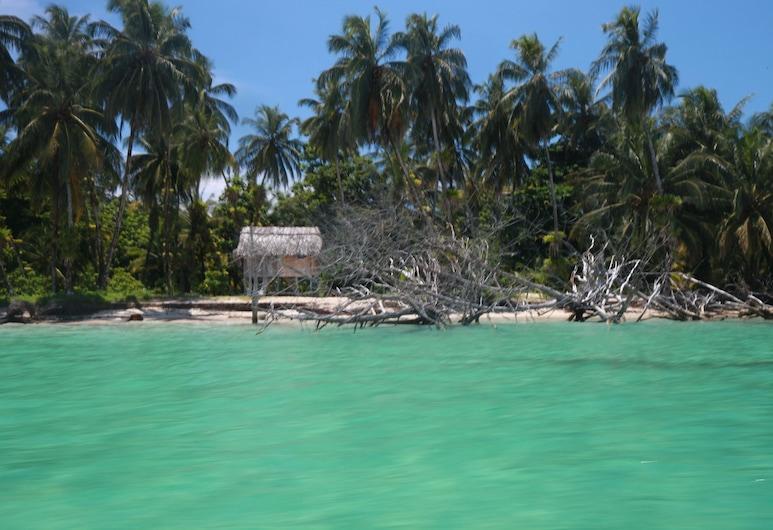 Bubba's House, Ostrov Isla Bastimentos, Pláž