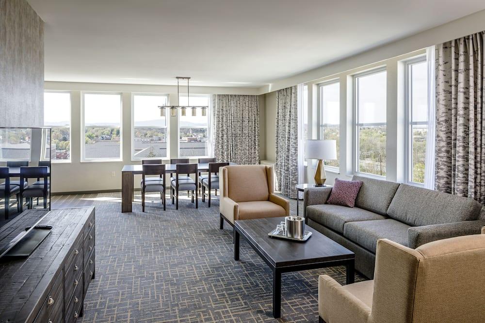 Predsjednički suite, 2 spavaće sobe - Dnevna soba
