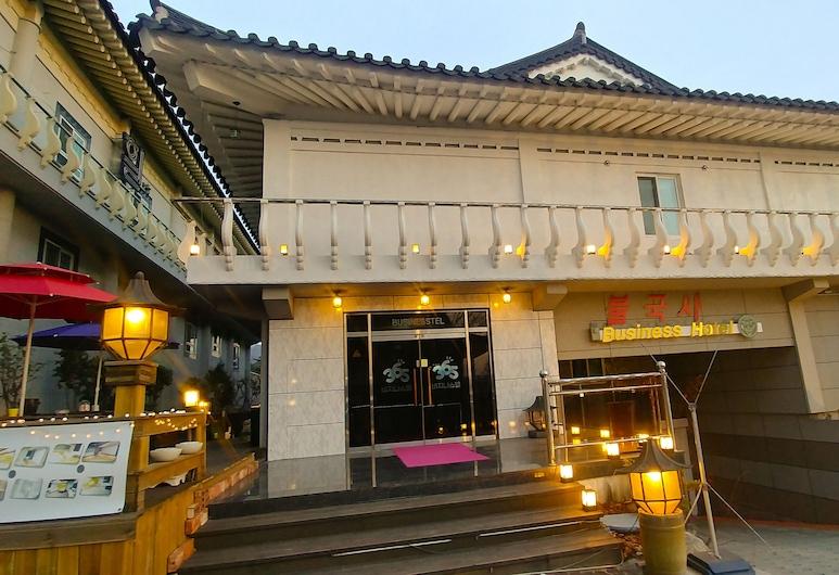 佛國寺家庭飯店, 慶州, 飯店正面