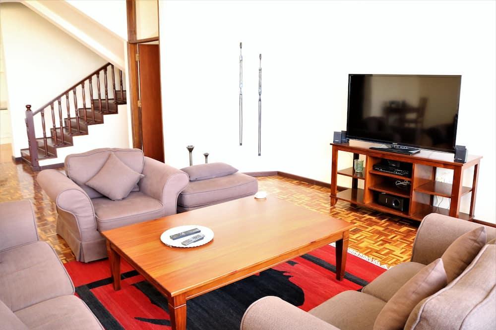 Executive appartement, 2 slaapkamers - Woonruimte
