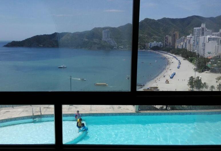 Hermosa Vista al Mar, Santa Marta, Quang cảnh từ phòng