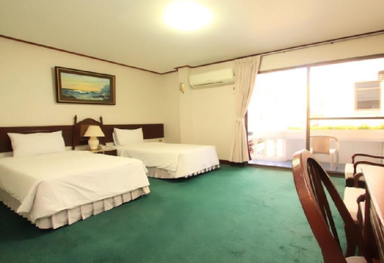 Baan Busarin Hotel, Hua Hin, Standard Double or Twin Room, 1 Bedroom, Bilik Tamu