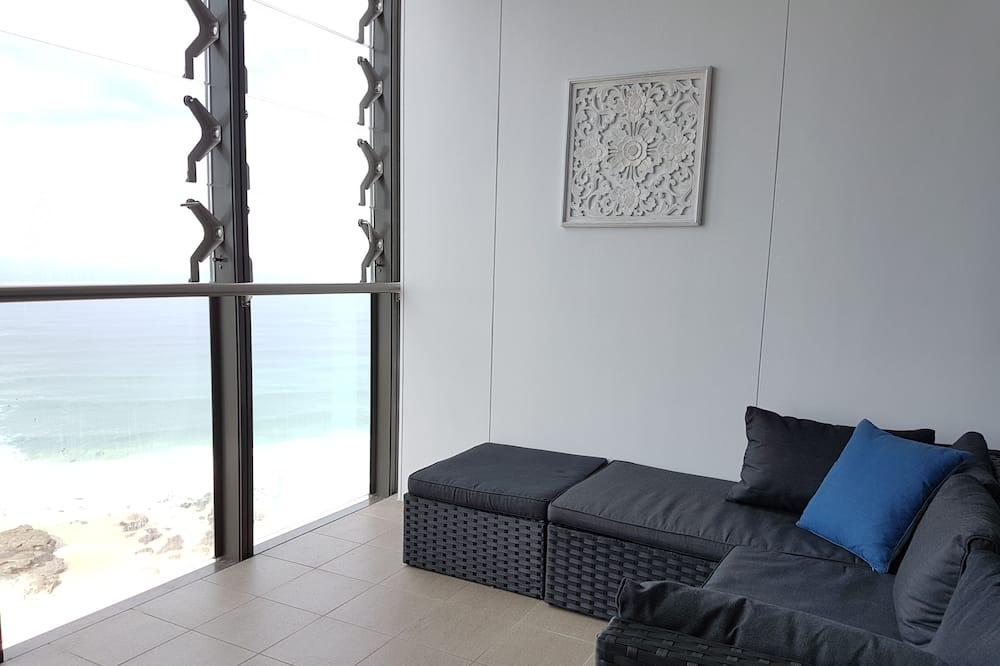 Külaliskorter, 2 magamistoaga, vaade ookeanile - Rõdu