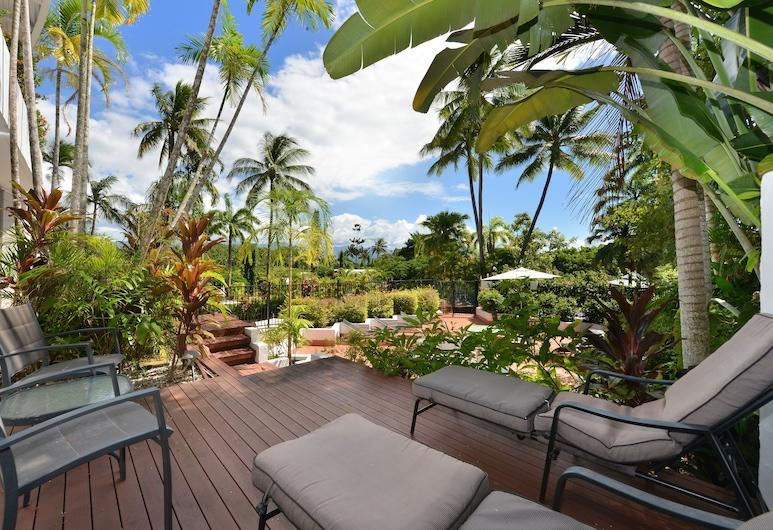 Seascape Holidays - Club Tropical Apts, Πορτ Ντάγκλας, Διαμέρισμα, 2 Υπνοδωμάτια, Αίθριο/βεράντα