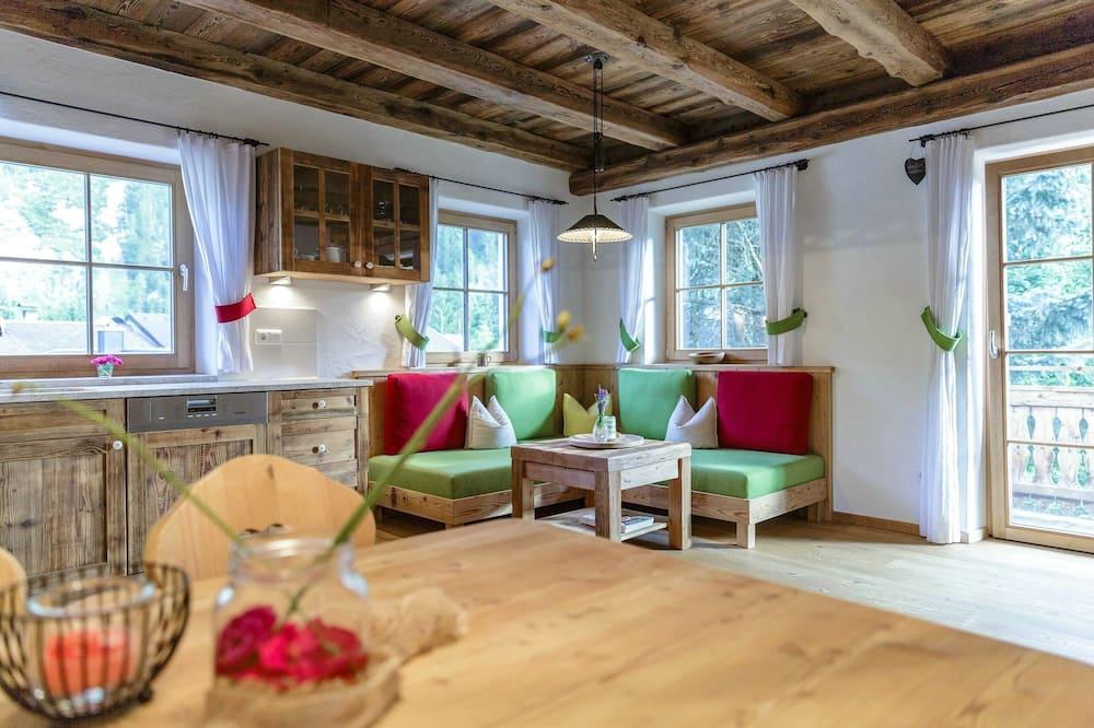 Apartament typu Deluxe, 2 łóżka queen, kuchnia, widok na góry - Udogodnienia w pokoju