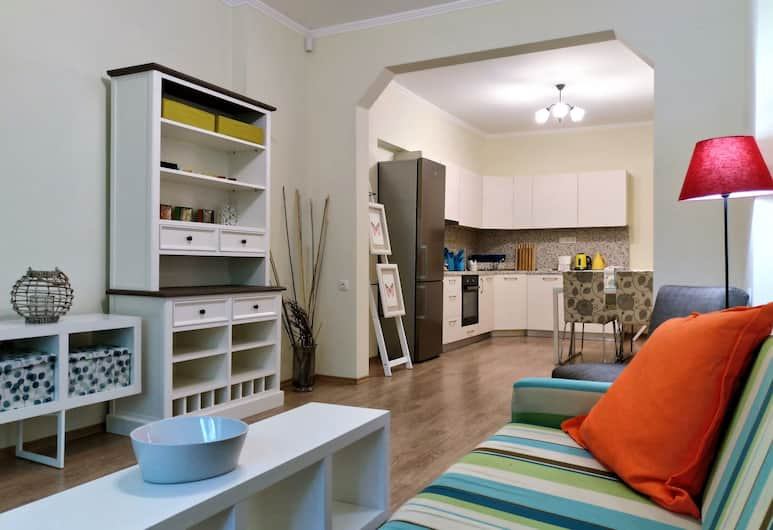Baratero Red House Apartment, Sofia, Apartment, 2 Bedrooms, Balcony, Living Area