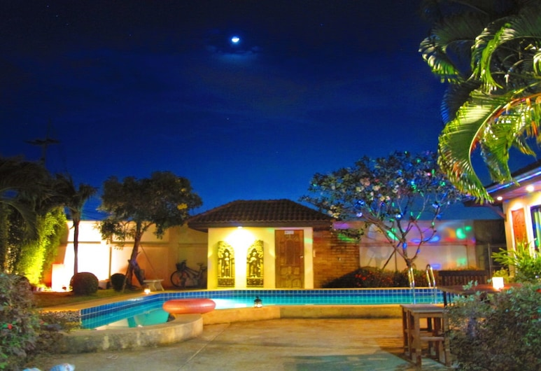 Private Pool Villa Rayong House, Rayong, Maison Luxe, 3 chambres, Terrasse/Patio