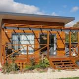 Baita Deluxe, 1 letto king, vista giardino (Cascaya) - Balcone