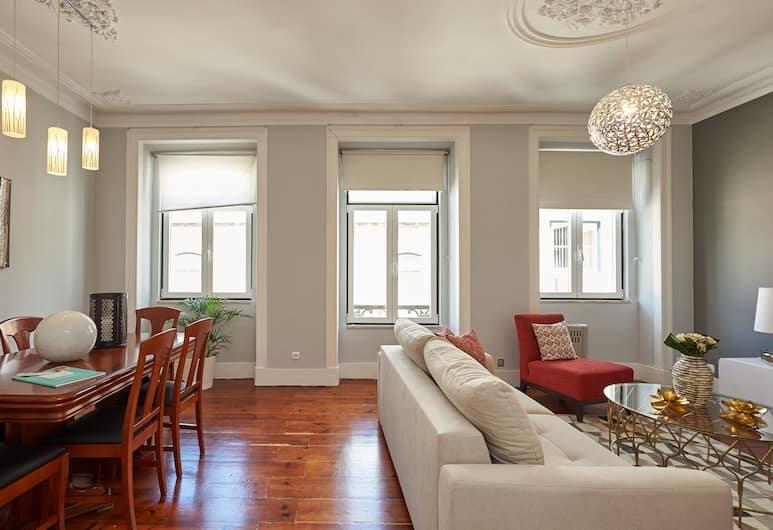 BeGuest Bairro Alto Apartment, Lisboa, Leilighet, 3 soverom, Oppholdsområde