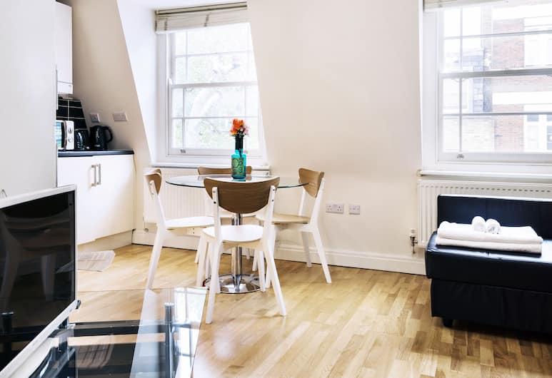 The Angel Apartments, London, Standard külaliskorter, 1 magamistoaga, Lõõgastumisala