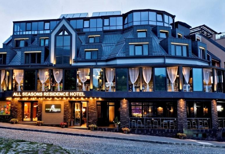 All Seasons Residence Hotel, Sofia, Hotel Front – Evening/Night