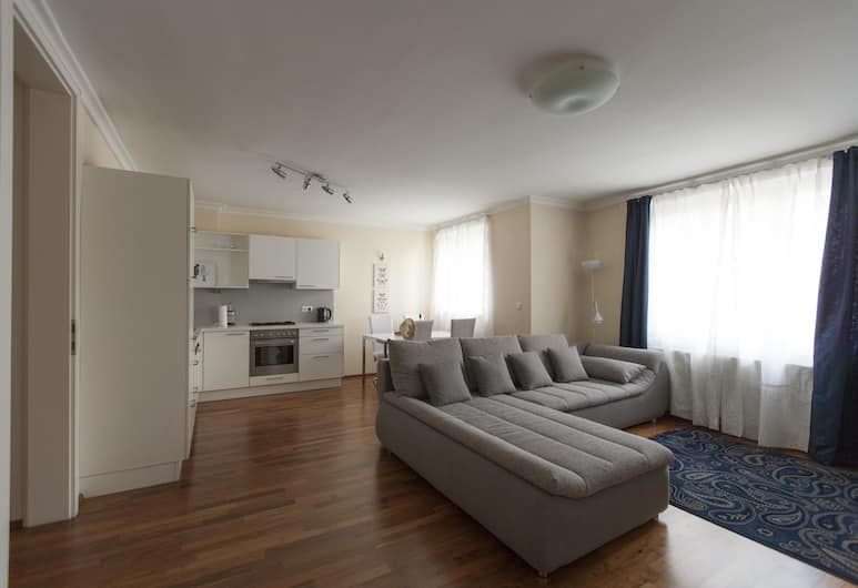 Heart of Vienna Residence, Vienna, Comfort Apartment, 1 Bedroom, Kitchen, Living Area