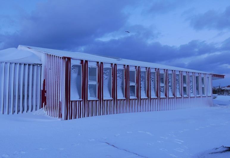 斯洛特拉青年旅舍, Rangárþing ytra, 酒店正面