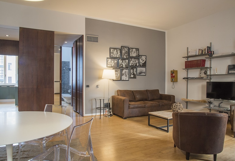 이지홈스 - 브레라 파테베네프라텔리, 밀라노, 아파트, 침실 1개, 거실
