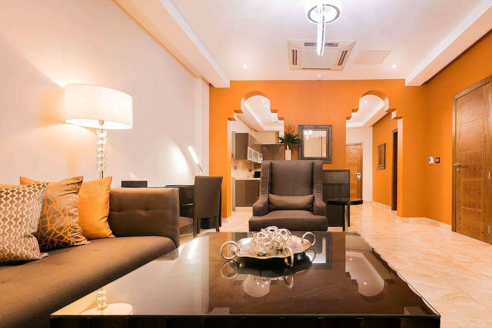 Номер-люкс із покращеним обслуговуванням, 2 спальні - Житлова площа