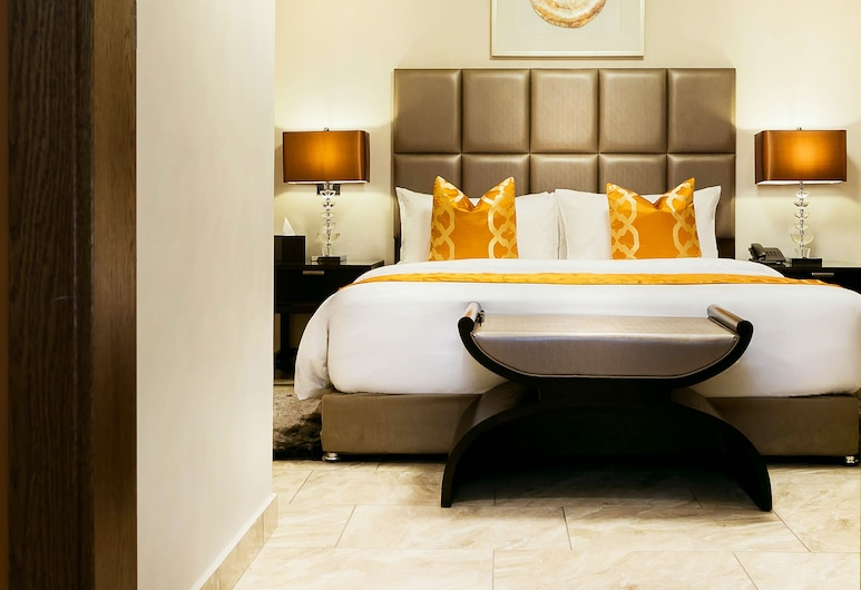 Oak Plaza Suites, Kumasi, Executive-Suite, 2 Schlafzimmer, Zimmer