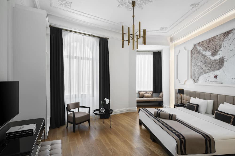 Deluxe-Doppel- oder -Zweibettzimmer, Nichtraucher, Stadtblick - Zimmer