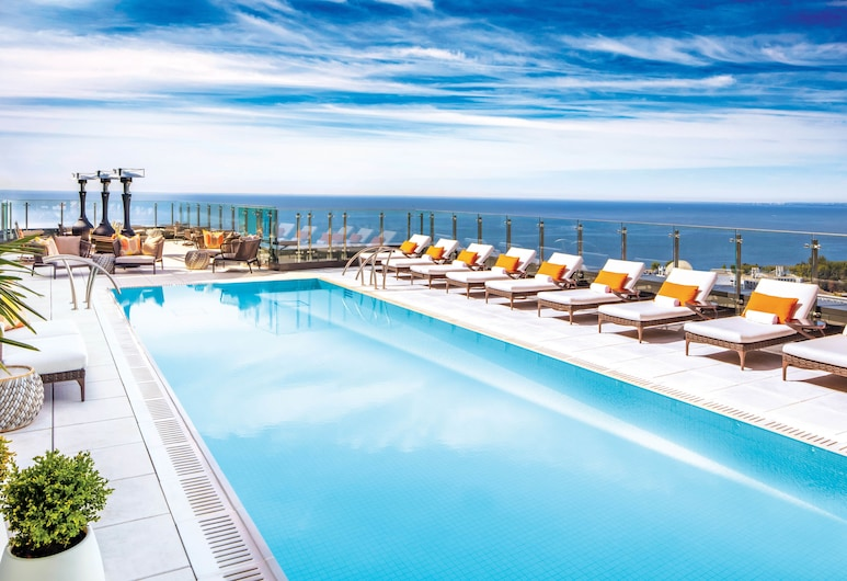 Hotel X Toronto by Library Hotel Collection, Toronto, Piscina no terraço
