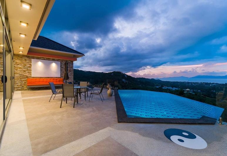 NB Villa Ying Yang, Koh Samui, Vila, 4 spavaće sobe, Terasa/trijem