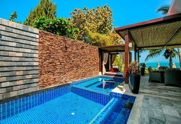 5 Bedroom Beach Front Villa Banyan, Samui, Välibassein