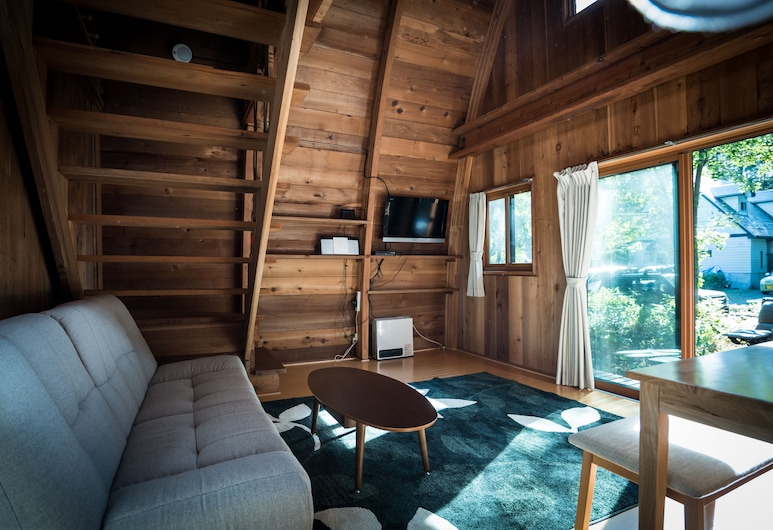 Yukiita Lodge, Hakuba, Two-Bedroom House, Living Area
