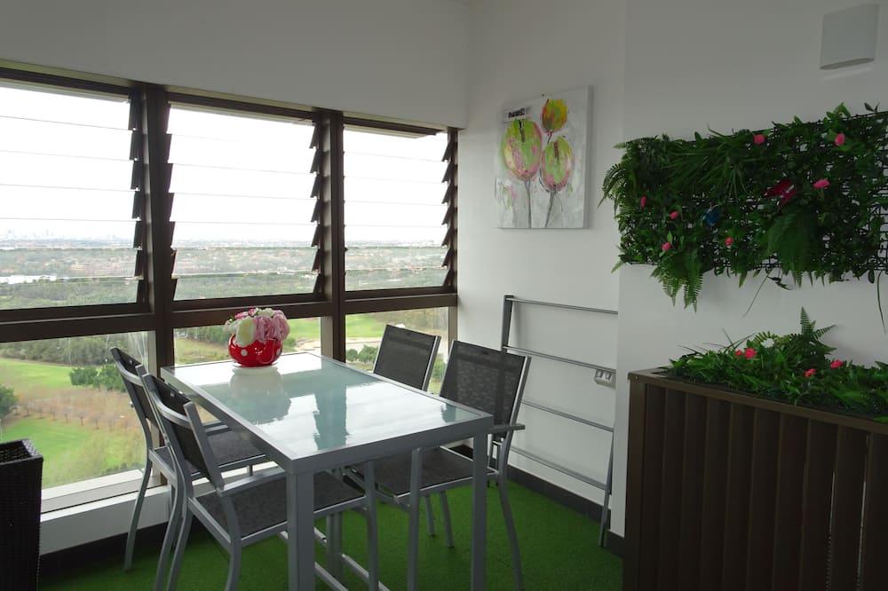 豪華公寓, 1 間臥室, 城市景觀 - 客房餐飲服務