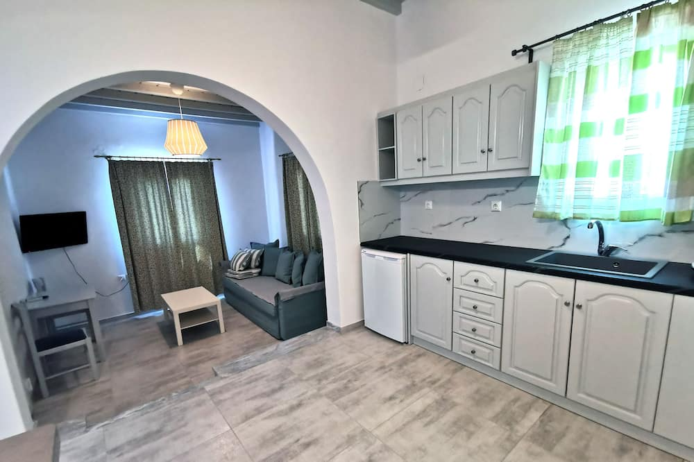 Appartement, 1 chambre, vue mer - Coin séjour