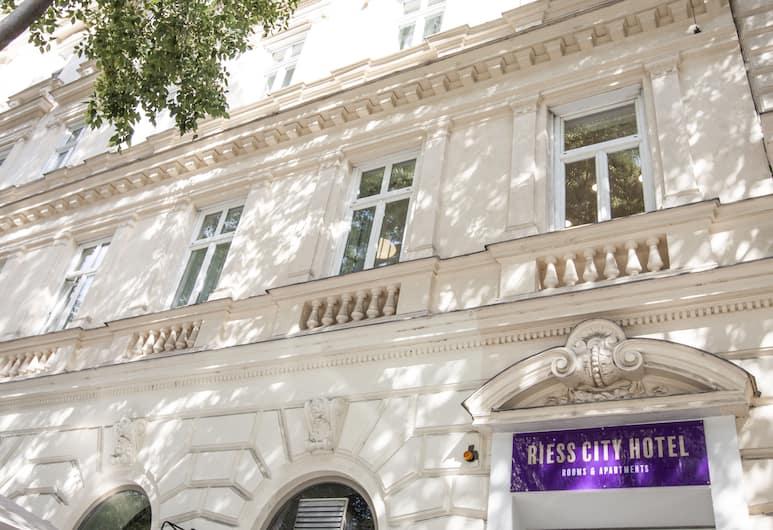 Riess City Hotel, Wiedeń, Fasada hotelu