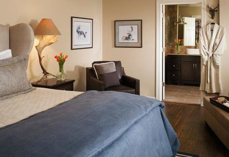 แอนท์เลอร์ส ออน เดอะครีก, ดูรังโก, ห้องพัก, ห้องน้ำส่วนตัว (Bear Creek Room), ห้องพัก