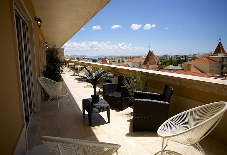 Home Sweet Lisbon, Lisbonne, Suite Elite with Terrace, Terrasse/Patio