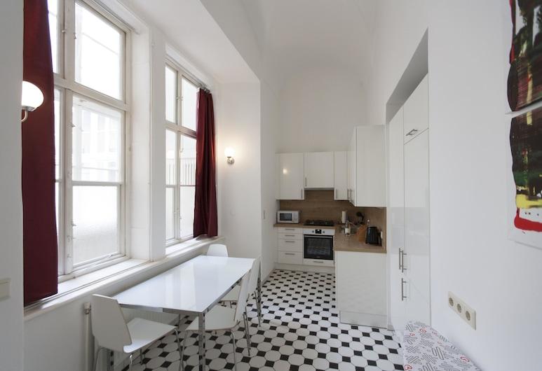 Heart of Vienna Luxury Residence, Viena, Apartamento superluxo, 2 quartos, Cozinha (including 70 € cleaning fee), Cozinha privada