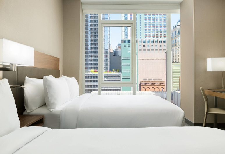 AC Hotel by Marriott New York Times Square, New York, Room, 2 Double Beds, Non Smoking, City View, Guest Room