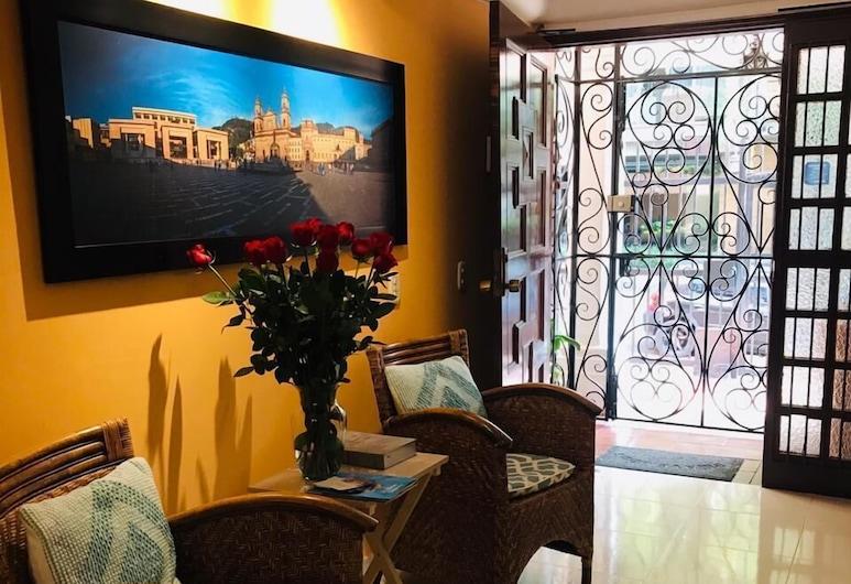 Casa Prada, Bogotá, Coin séjour