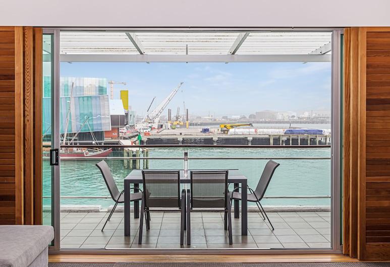 Princes Wharf Luxury - Fabulous Views, Auckland, Apartment, 1 Bedroom, Terrace/Patio